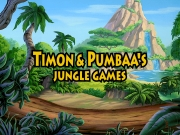 TIMON AND PUMBAA`S - JUNGLE GAMES title