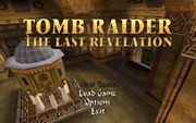 TOMB RAIDER IV THE LAST REVELATION title screen