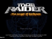 TOMB RAIDER VI THE ANGEL OF DARKNESS title screen