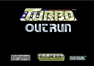 TURBO OUTRUN title screen