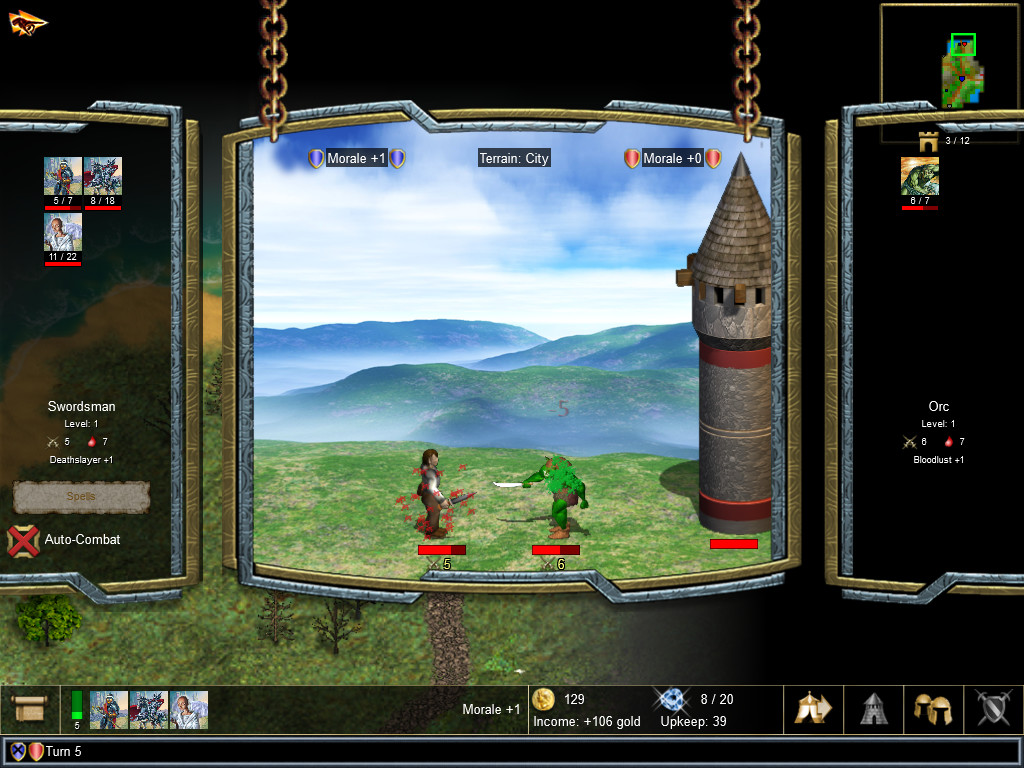 WARLORDS IV: HEROES OF ETHERIA