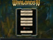 WARLORDS IV: HEROES OF ETHERIA title