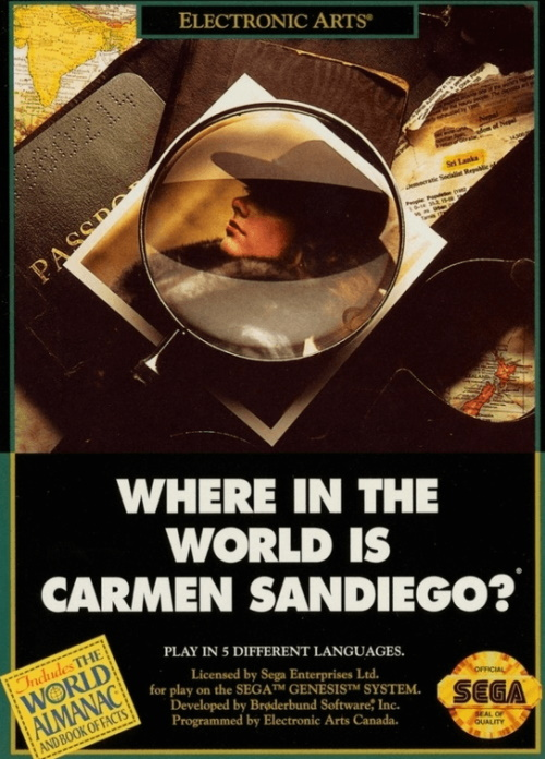 Abandonware Games Where In The World Is Carmen Sandiego