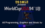 WORLD CUP USA 94 title screen