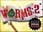 WORMS 2 title screen