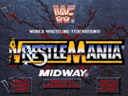 WWF Wrestlemania The Arcade Game title