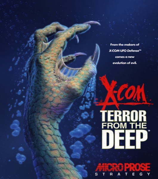 x com terror from the deep