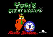 YOGI S GREAT ESCAPE game title