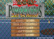 YU-GI-OH!: POWER OF CHAOS - JOEY THE PASSION 1